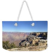 The South Rim In The Winter Weekender Tote Bag