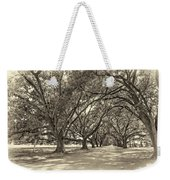 The Southern Way Sepia Weekender Tote Bag