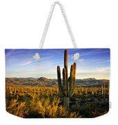 The Southwest Golden Hour  Weekender Tote Bag