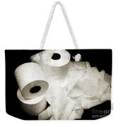 The Spare Rolls 2 - Toilet Paper - Bathroom Design - Restroom - Powder Room Weekender Tote Bag
