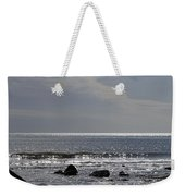 The Sparkling Sea Weekender Tote Bag