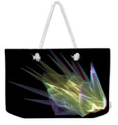 The Speed Of Light - Use Red/cyan Filtered 3d Glasses Weekender Tote Bag