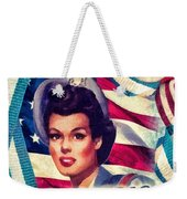 The Spirit Of America Weekender Tote Bag