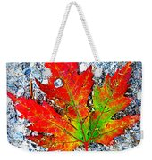 The Spirit Of Autumn Weekender Tote Bag
