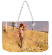 The Spirit Of The Drought Weekender Tote Bag
