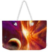 The Spirit Realm Of The Saphire Nebula Weekender Tote Bag