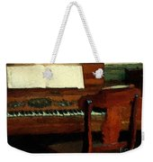 The Square Piano Weekender Tote Bag