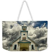 The Squaw Bay Church Weekender Tote Bag by Jakub Sisak