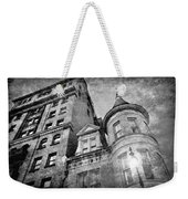 The Stafford Hotel - Grayscale Weekender Tote Bag
