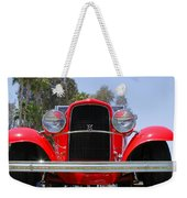The Stare Of A V8 Weekender Tote Bag