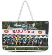 The Start At Saratoga Weekender Tote Bag