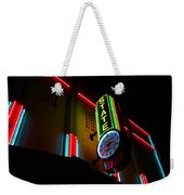 The State In Neon Weekender Tote Bag