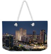 The State Of Now Weekender Tote Bag by Ron Shoshani