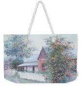 The Stationmaster's Cottage Weekender Tote Bag
