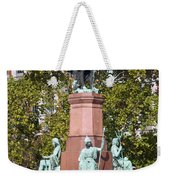 The Statue Of Istvan Szechenyi In Budapest Weekender Tote Bag