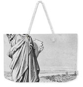 The Statue Of Liberty New York Weekender Tote Bag