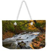 The Still River Weekender Tote Bag by Bill Wakeley
