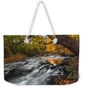 The Still River Square Weekender Tote Bag by Bill Wakeley