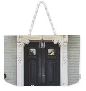The Stockade Door In Schenectady New York Weekender Tote Bag by Lisa Russo