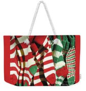 The Stockings Are Hung Weekender Tote Bag