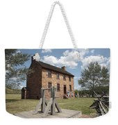 The Stone House At Manassas Weekender Tote Bag