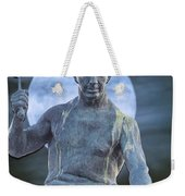 The Stone Mason Weekender Tote Bag