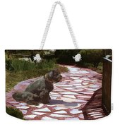 The Stone Path Weekender Tote Bag