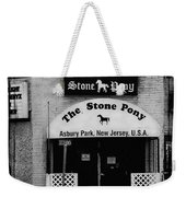 The Stone Pony Weekender Tote Bag by Colleen Kammerer