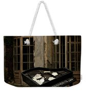 The Stone Sphere And Broken Grand Piano Weekender Tote Bag
