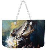 The Storm On The Sea Of Galilee Weekender Tote Bag