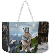The Story Of The White Bear Weekender Tote Bag