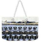 The Story Told 1 Weekender Tote Bag by Angelina Vick