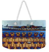The Story Told 3 Weekender Tote Bag by Angelina Vick