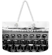The Story Told Bw Weekender Tote Bag