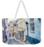The Streets Of Old Quebec City Weekender Tote Bag