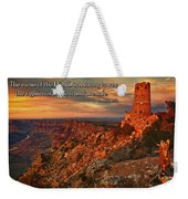 The Strong Tower Weekender Tote Bag