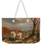 The Suffolk Hunt Weekender Tote Bag
