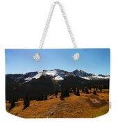 The Sugar Coated Mountains Weekender Tote Bag