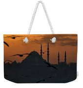 The Suleymaniye Mosque At Sunset Weekender Tote Bag
