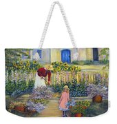 The Summer Garden Weekender Tote Bag