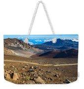 The Summit Of Haleakala Volcano In Maui. Weekender Tote Bag