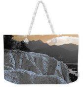 The Sun Let Down  Weekender Tote Bag