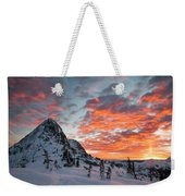 The Sun Rises, Illuminating The Sky Weekender Tote Bag