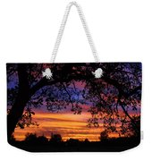The Sun Sets For Mike Weekender Tote Bag