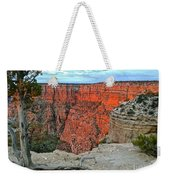 The Sun Shines On The Canyon Weekender Tote Bag