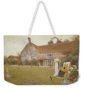 The Sundial Weekender Tote Bag