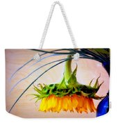 The Sunflower Speaks Weekender Tote Bag