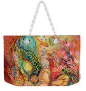 The Sunrise In Orange Garden Weekender Tote Bag