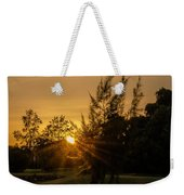 The Sunset In The Mountain IIi Weekender Tote Bag
