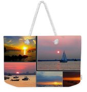 The Sunsets Of Long Island Weekender Tote Bag
